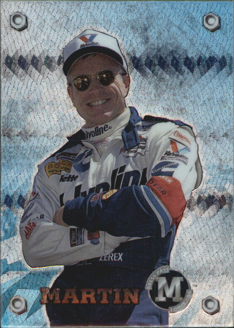 1996 M-Force #9 Mark Martin