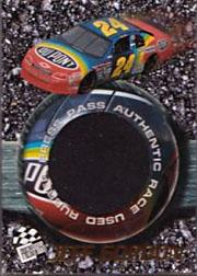 1996 Press Pass Burning Rubber #BR2 Jeff Gordon's Car
