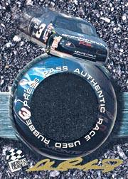 1996 Press Pass Burning Rubber #BR3 Dale Earnhardt's Car