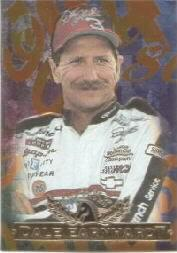 1996 KnightQuest Protectors of the Crown #PC2 Dale Earnhardt