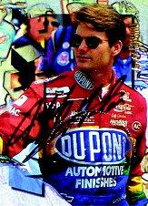 1996 Maxx Autographs #24 Jeff Gordon
