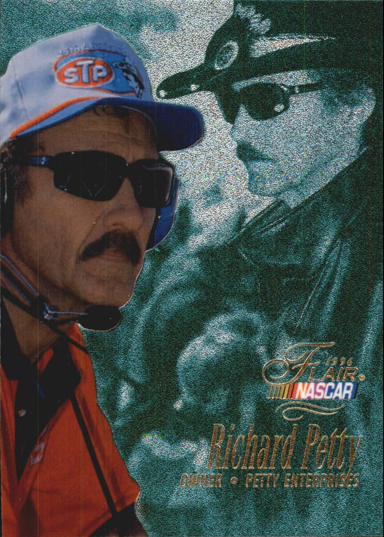 1996 Flair #51 Richard Petty