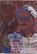 1996 Flair Autographs #2 Dale Earnhardt