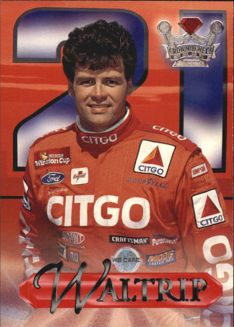 1996 Crown Jewels Elite #15 Michael Waltrip