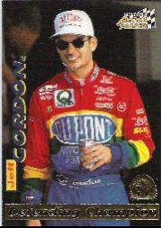 1996 Action Packed Credentials #4 Jeff Gordon DC