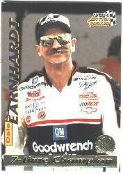 1996 Action Packed Credentials #8 Dale Earnhardt STC