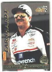 1996 Action Packed Credentials #9 Dale Earnhardt STC