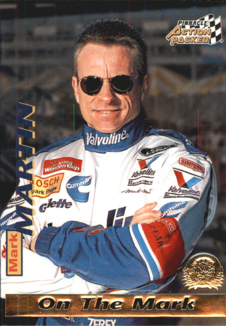 1996 Action Packed Credentials #15 Mark Martin OTM