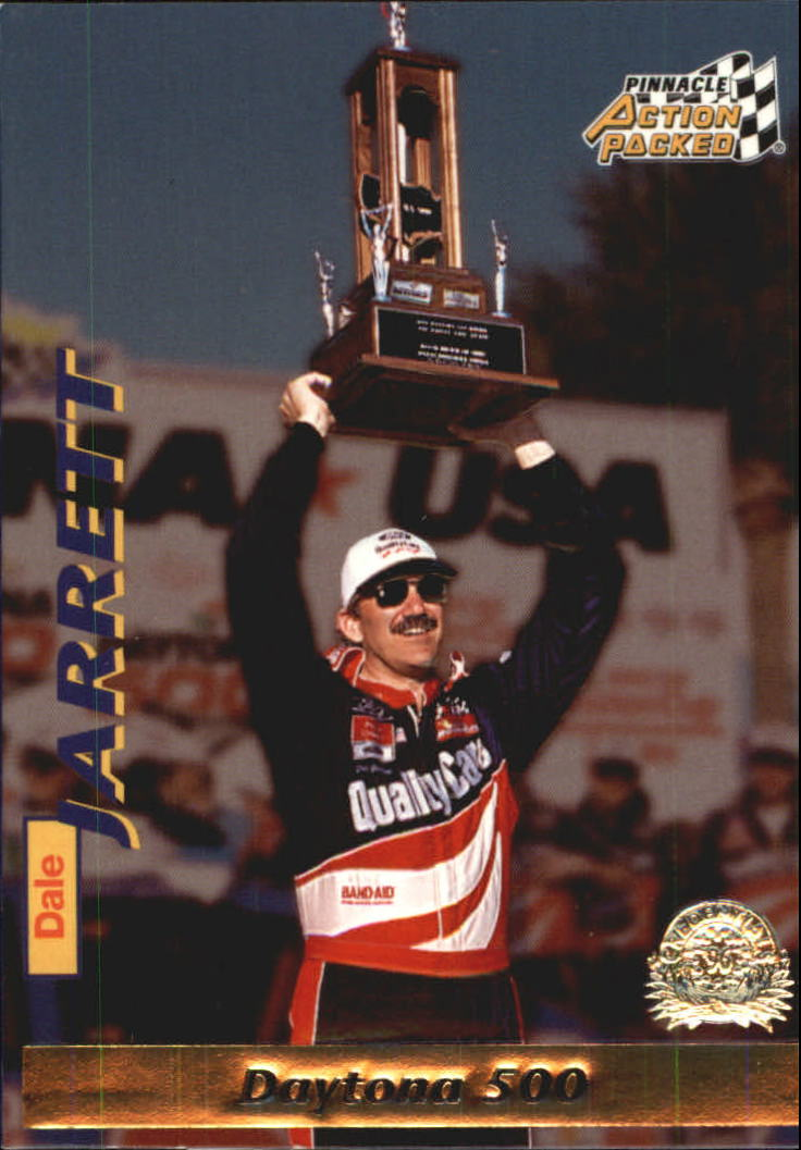 1996 Action Packed Credentials #19 Dale Jarrett DW