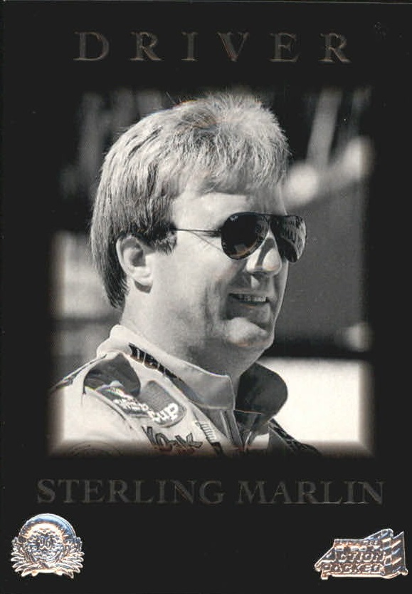 1996 Action Packed Credentials #22 Sterling Marlin