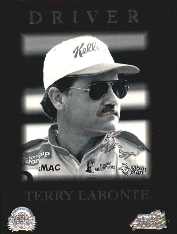1996 Action Packed Credentials #25 Terry Labonte