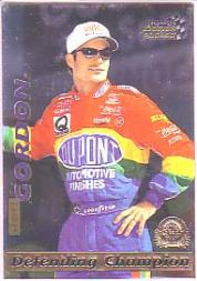 1996 Action Packed Credentials Silver Speed #3 Jeff Gordon DC