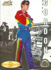 1996 Action Packed Credentials Leaders of the Pack #7 Jeff Gordon