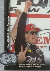 1997 Upper Deck Victory Circle #2 Rusty Wallace