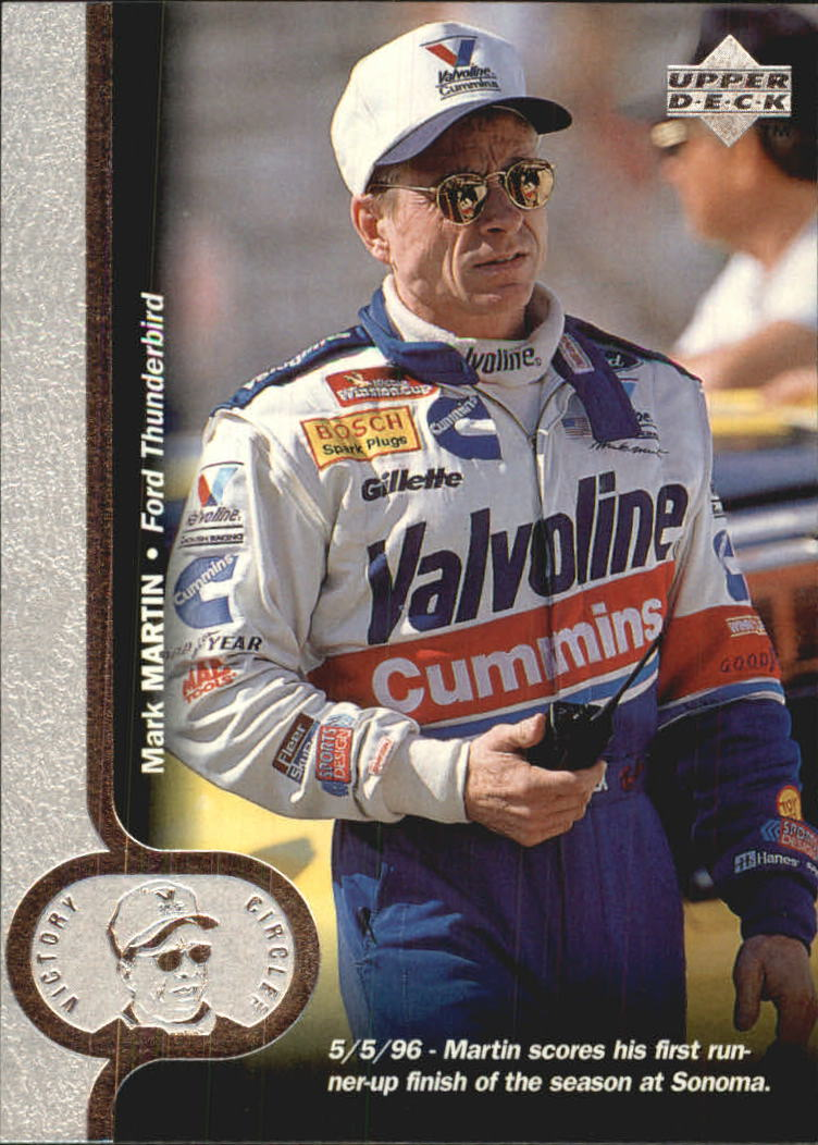 1997 Upper Deck Victory Circle #6 Mark Martin