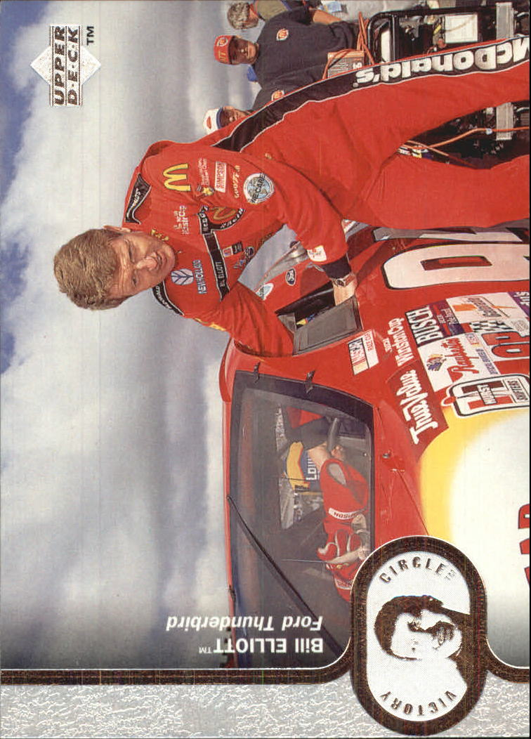 1997 Upper Deck Victory Circle #13 Bill Elliott