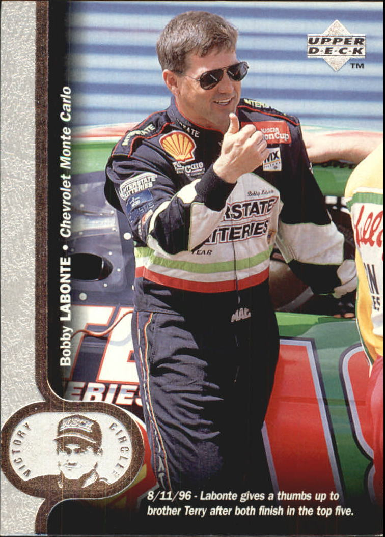 1997 Upper Deck Victory Circle #18 Bobby Labonte