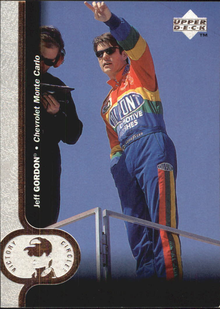 1997 Upper Deck Victory Circle #24 Jeff Gordon