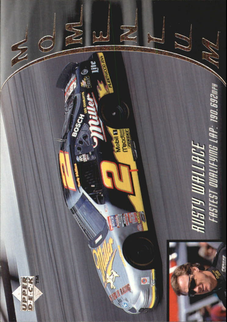 1997 Upper Deck Victory Circle #52 Rusty Wallace's Car