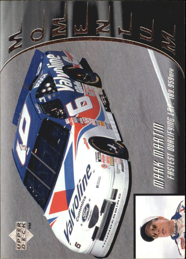 1997 Upper Deck Victory Circle #56 Mark Martin's Car