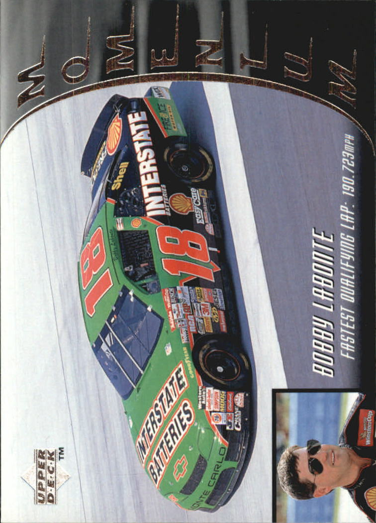 1997 Upper Deck Victory Circle #68 Bobby Labonte's Car