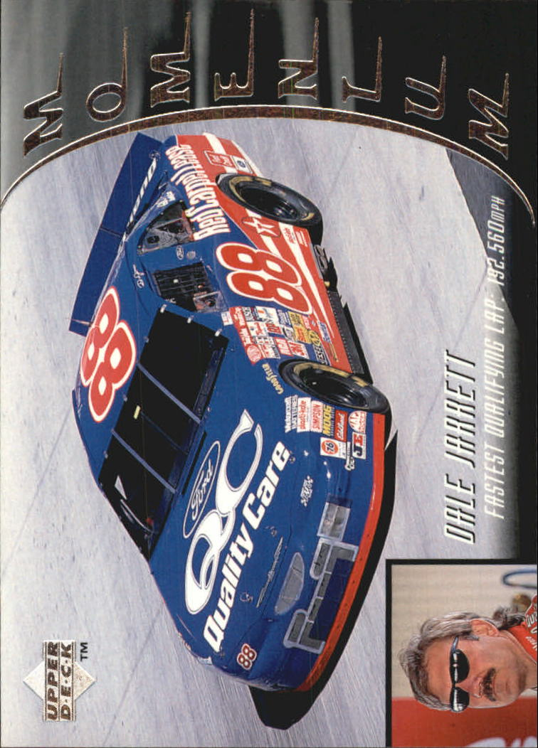 1997 Upper Deck Victory Circle #86 Dale Jarrett's Car