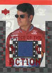 1997 Upper Deck Victory Circle Piece of the Action #FS1 Jeff Gordon Firesuit