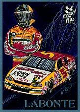 1997 VIP Knights of Thunder #KT5 Terry Labonte
