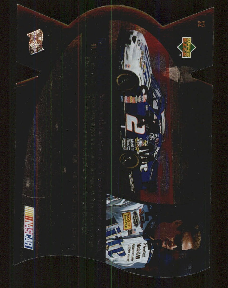 1997 SPx Silver #2 Rusty Wallace back image