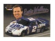 1997 Ultra Update Autographs #7 Rusty Wallace