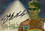 1997 Race Sharks Shark Tooth Signatures First Bite #ST2 Jeff Gordon