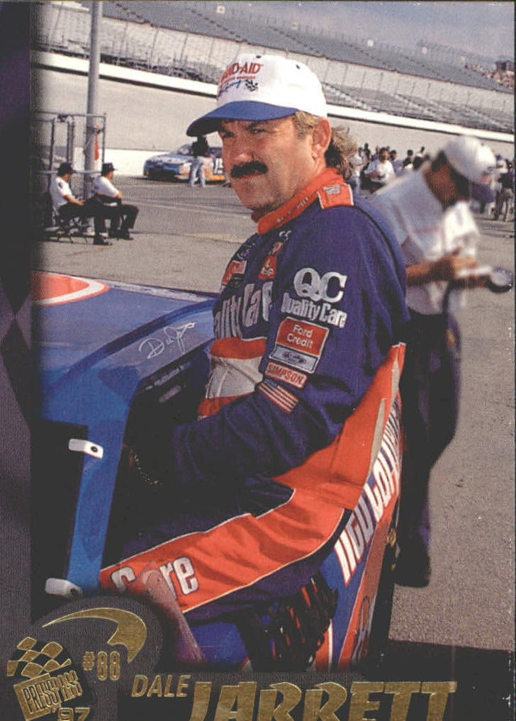 1997 Press Pass #3 Dale Jarrett