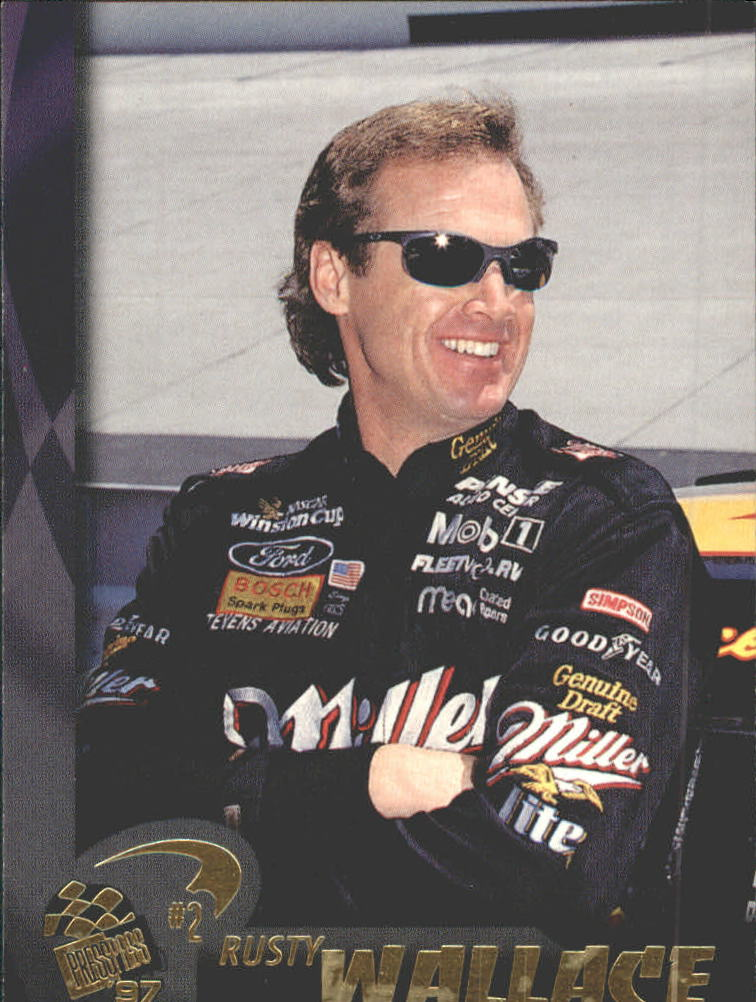 1997 Press Pass #7 Rusty Wallace