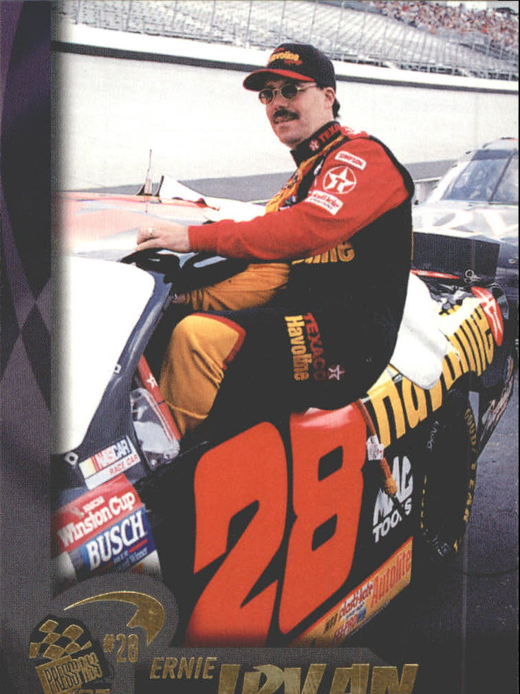 1997 Press Pass #10 Ernie Irvan