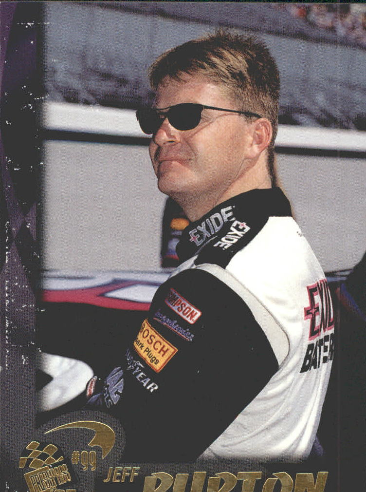 1997 Press Pass #13 Jeff Burton