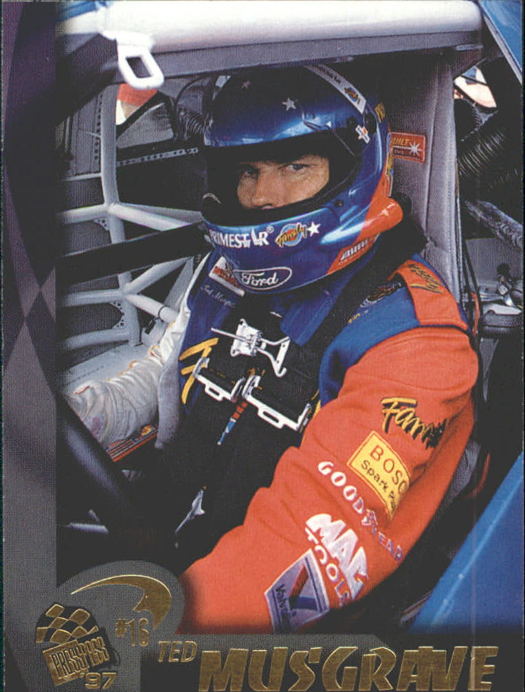 1997 Press Pass #15 Ted Musgrave