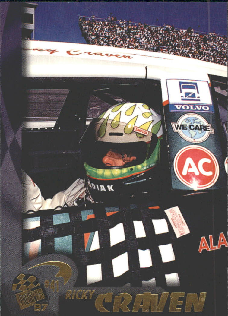 1997 Press Pass #19 Ricky Craven