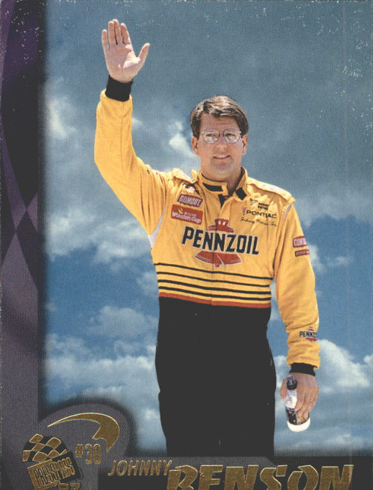 1997 Press Pass #20 Johnny Benson