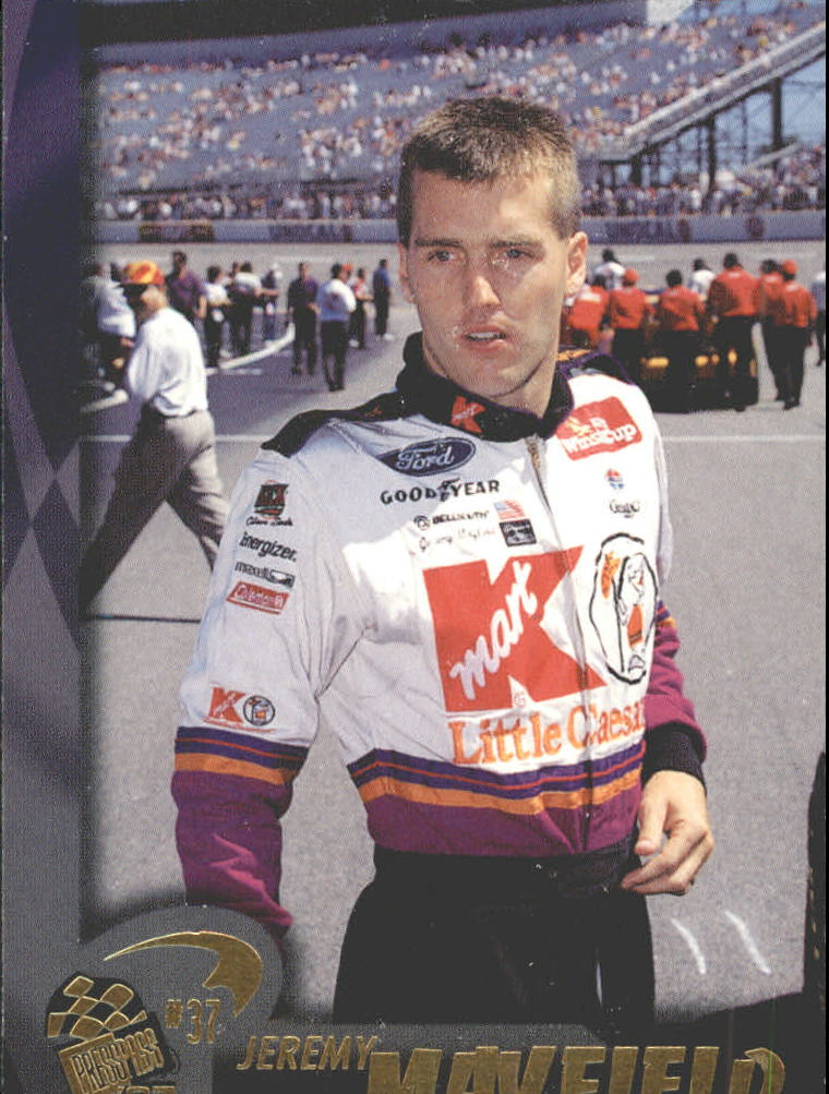 1997 Press Pass #22 Jeremy Mayfield
