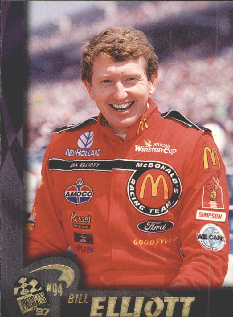 1997 Press Pass #26 Bill Elliott