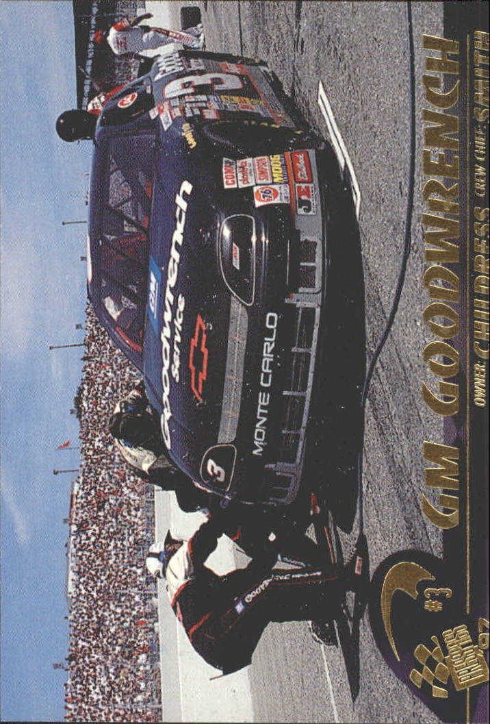1997 Press Pass #32 Dale Earnhardt's Car
