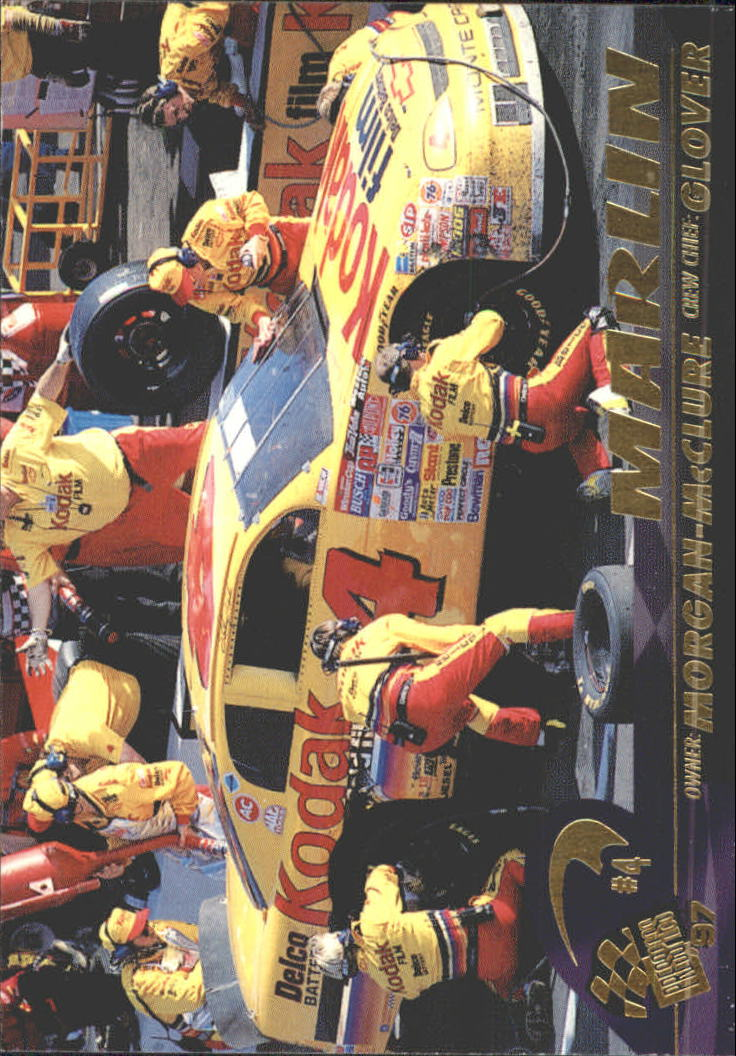 1997 Press Pass #33 Sterling Marlin's Car