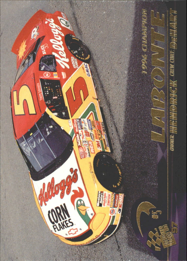 1997 Press Pass #34 Terry Labonte's Car
