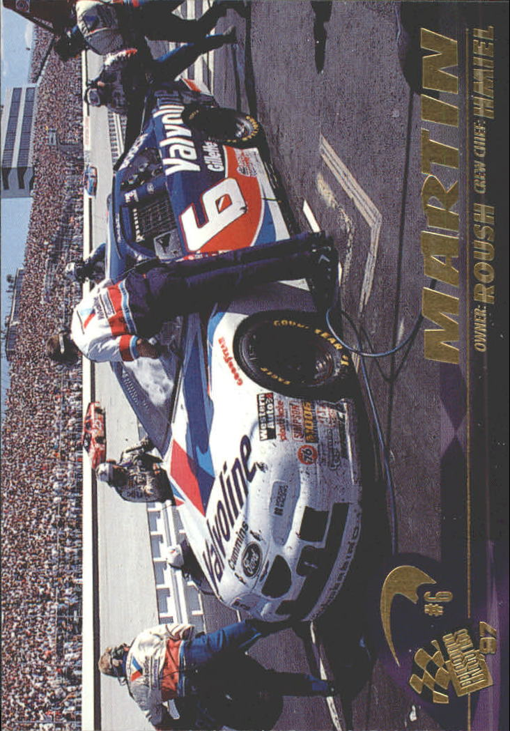 1997 Press Pass #35 Mark Martin's Car