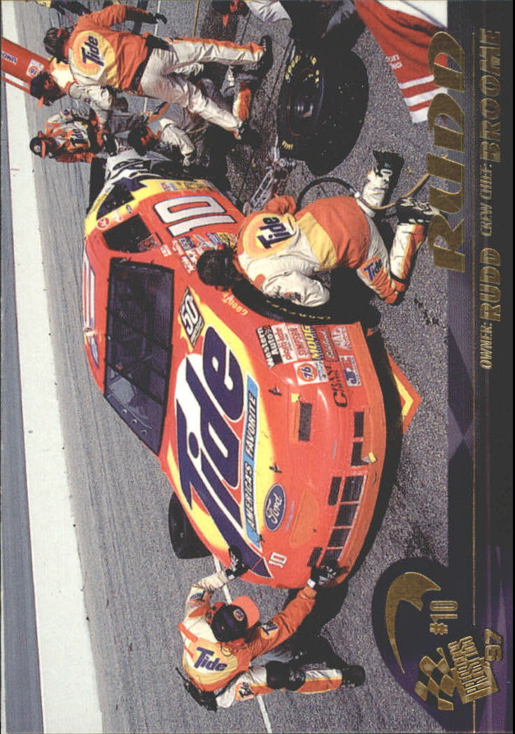 1997 Press Pass #36 Ricky Rudd's Car