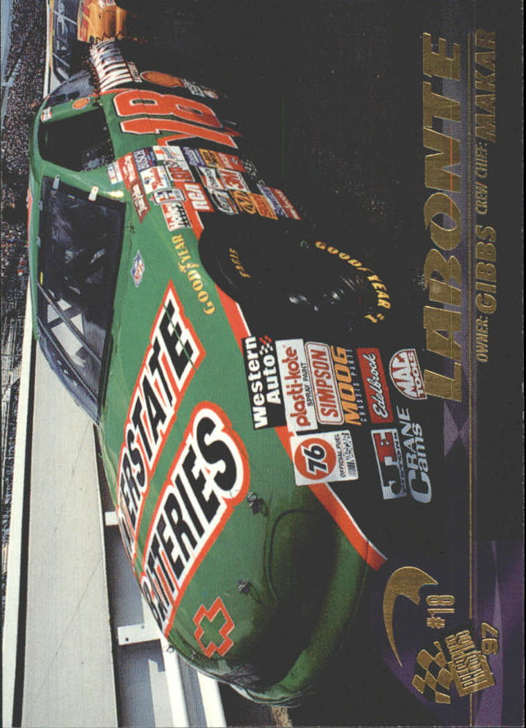 1997 Press Pass #37 Bobby Labonte's Car