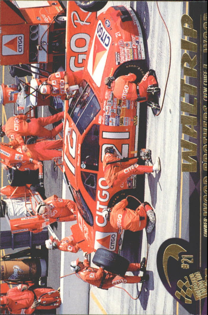 1997 Press Pass #38 Michael Waltrip's Car