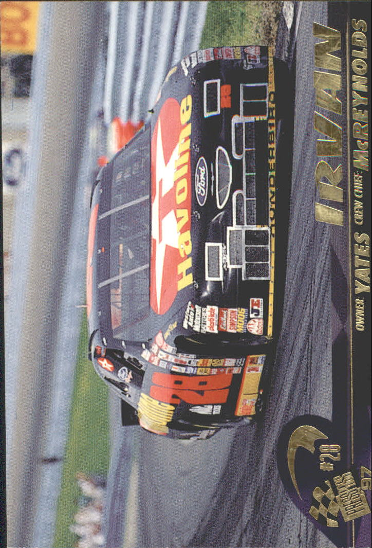 1997 Press Pass #40 Ernie Irvan's Car