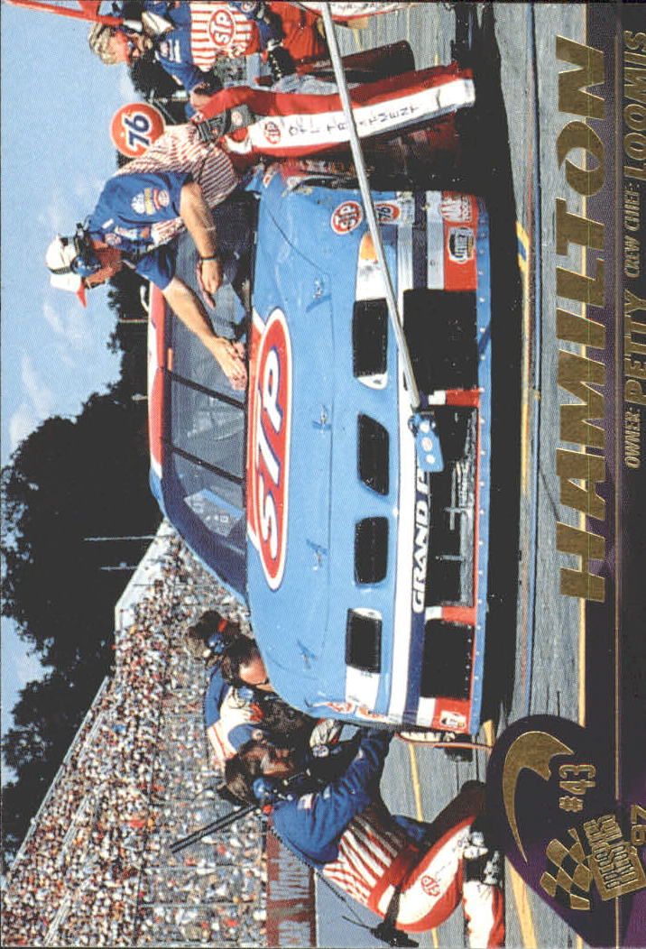 1997 Press Pass #43 Bobby Hamilton's Car
