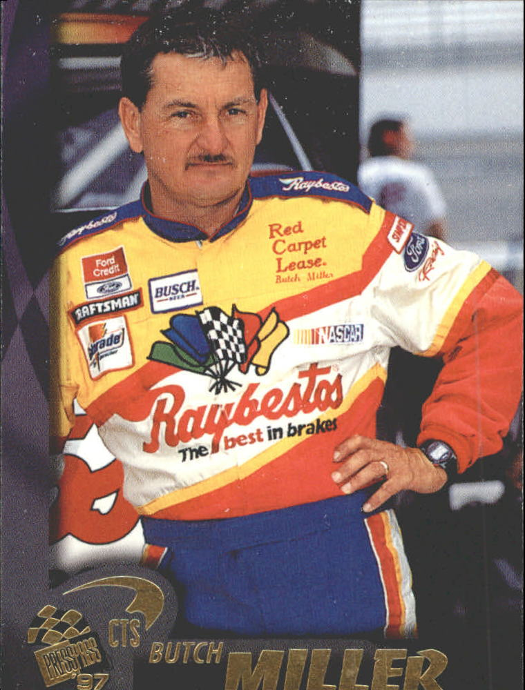 1997 Press Pass #49 Butch Miller